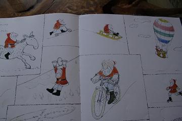 絵本 クリスマスのおくりもの 途中のページ