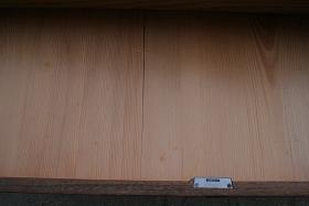 古箪笥 抽斗の底板の割れ