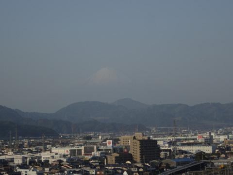静岡グランシップ10Fからの富士山