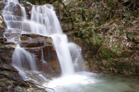 立派な滝が出現