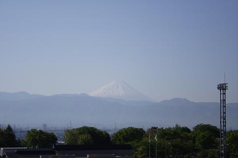 中央道双葉SAからの富士山