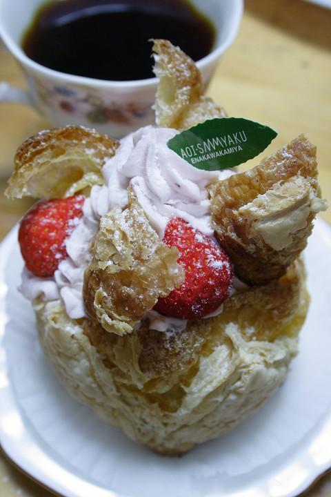 恵那川上屋さんのケーキ