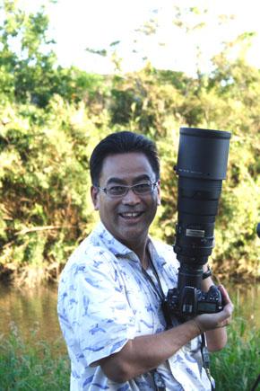佐鳴湖 青い鳥撮影隊 隊長:加藤先生