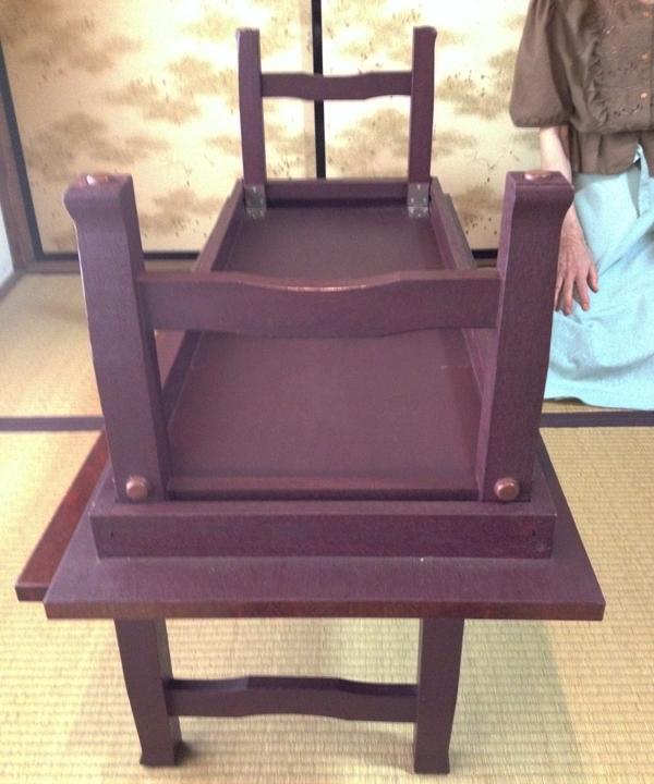 畳座用の接待机(改造前)
